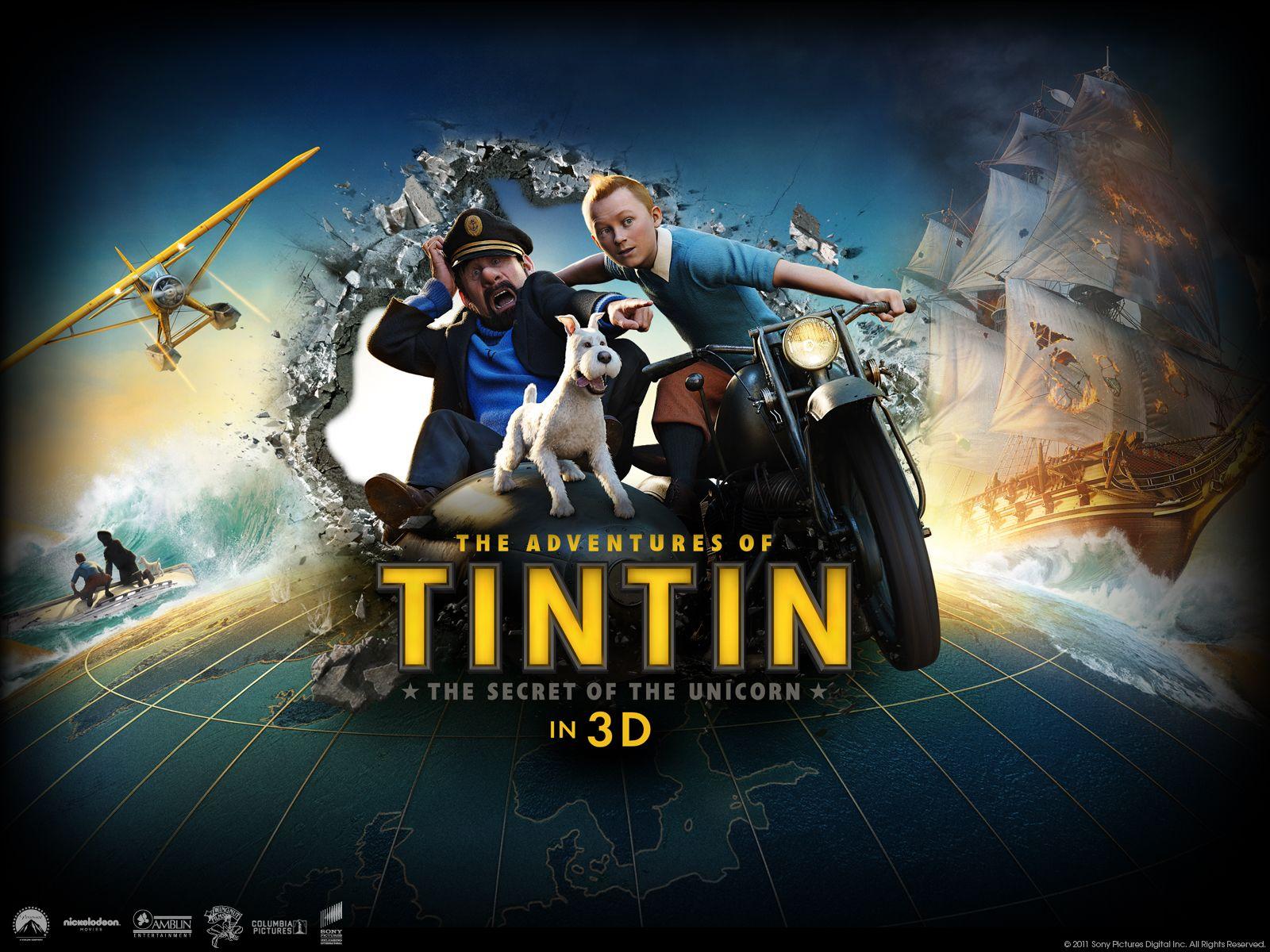 The Adventures of Tintin Filmi Yapım Aşaması