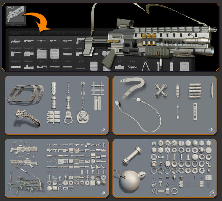 ZBrush 4R4 Ve Yeni Özellikleri