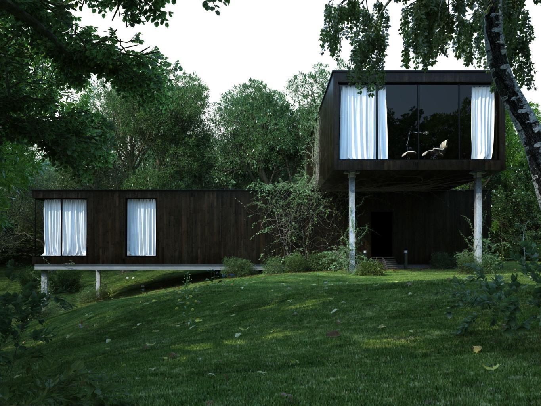 Render Sonucunu Photoshop'ta Düzenlemek : Forgotten House