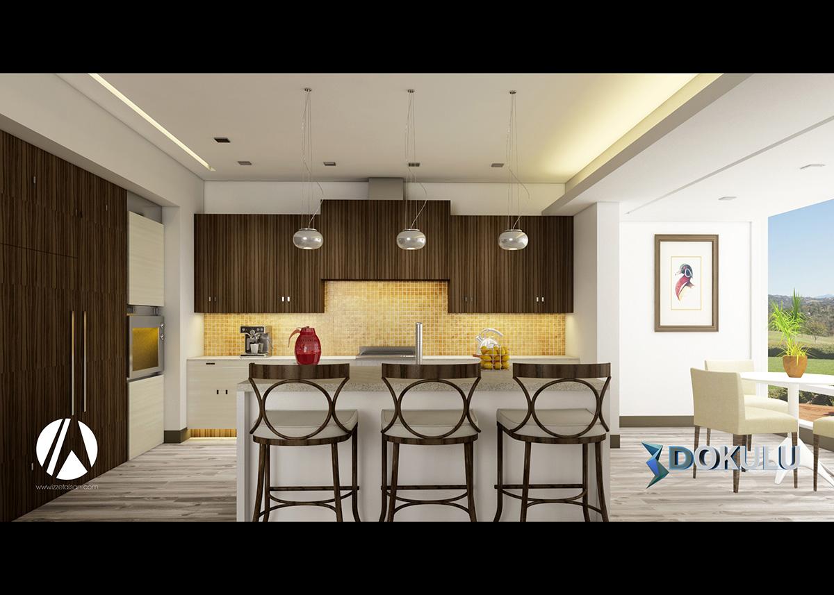 3ds Max, Vray Render ve Photoshop İle Mutfak Render Eğitim Seti